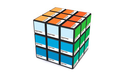 Cubo Rubick Pantone