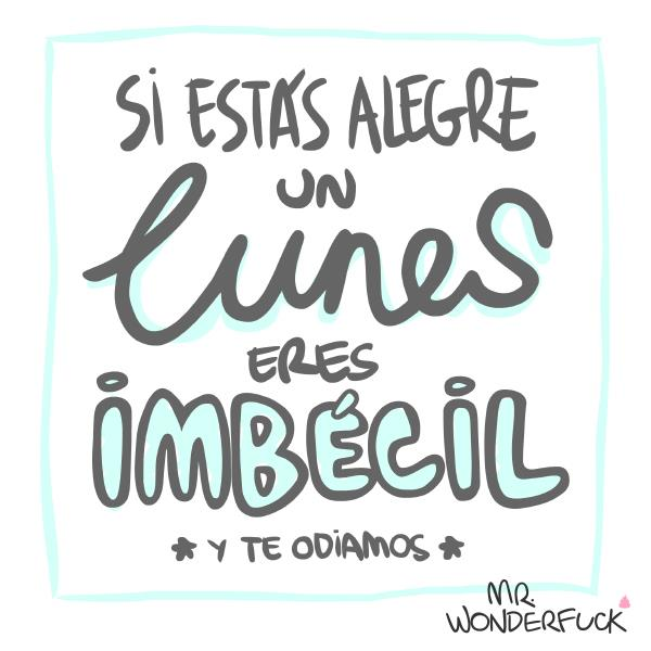 Mr. Wonderfuck lunes